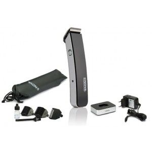 Buy Nova NHT 1075 Titanium Blades Trimmer (Black) - Nykaa