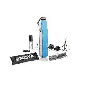 Buy Nova NHT 1047 Pro Skin Advance Trimmer  (Blue) - Nykaa