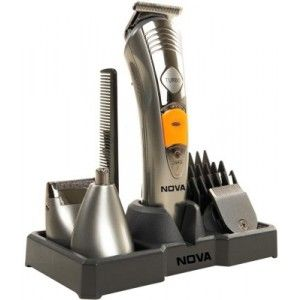 Buy Nova Multi Grooming KIT 7 IN 1 NG 1095 Trimmer (Silver) - Nykaa