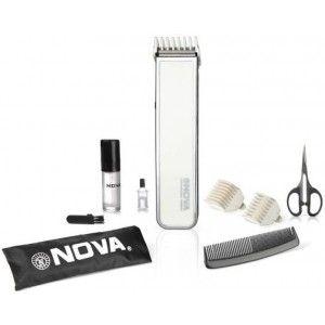 Buy Nova NHT 1055 W Advanced Skin Friendly Precision Trimmer For Men (White) - Nykaa