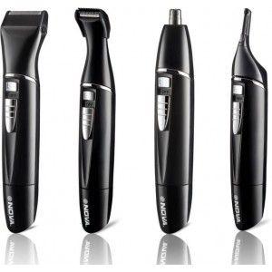 Buy Nova NG 910 100% Waterproof Portable Grooming Kit For Men (Black) - Nykaa
