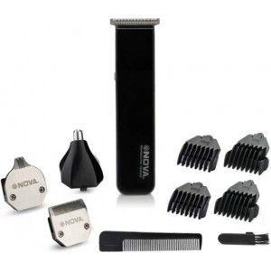 Buy Nova NG 1060 Personal Groming Kit Trimmer For Men (Black) - Nykaa