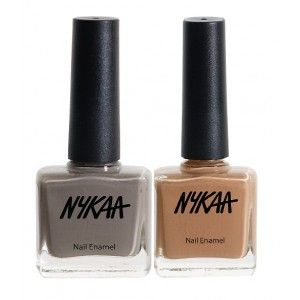 Buy Nykaa Strangers In The Night Nail Enamel Combo - Nykaa