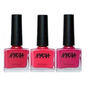 Buy Nykaa Sweet Blush Nail Enamel Combo - Nykaa