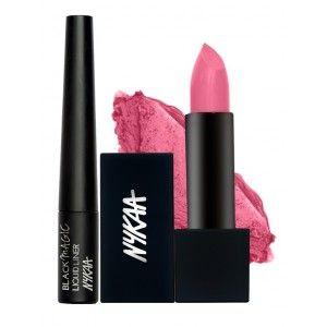 Buy Nykaa Queen Attitude Eyes & Lips Combo - Nykaa