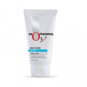 Buy O3+ Milk ScrubDry Skin Dermal Zone - Nykaa