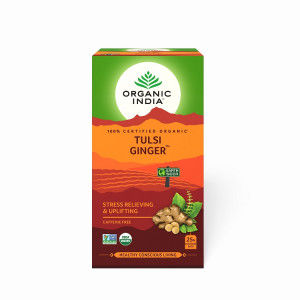 Buy Organic India Tulsi Ginger - Nykaa