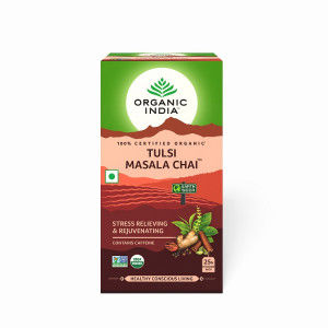 Buy Organic India Tulsi Masala Chai - Nykaa