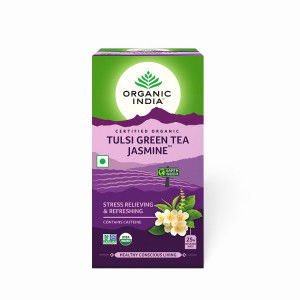 Buy Organic India Tulsi Jasmine Green Tea - Nykaa