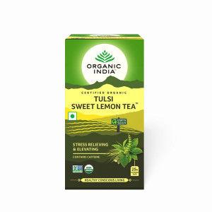 Buy Organic India Tulsi Sweet Lemon Tea - Nykaa