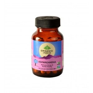 Buy Organic India Ashwagandha - Nykaa
