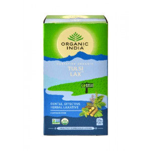 Buy Organic India Tulsi Lax Tea (18 Tea Bag) - Nykaa