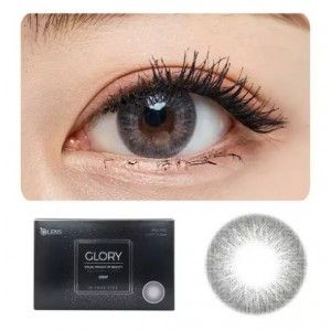 Buy O-Lens Glory Contact Lenses - Gray - Nykaa