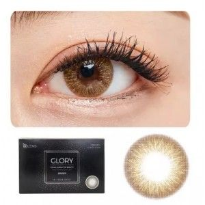 Buy O-Lens Glory Contact Lenses - Brown - Nykaa