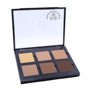 Buy PAC 6 Color Contour Palette Cream - Nykaa