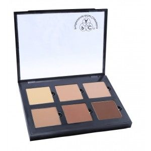 Buy PAC 6 Color Contour Palette Powder - 1 - Nykaa