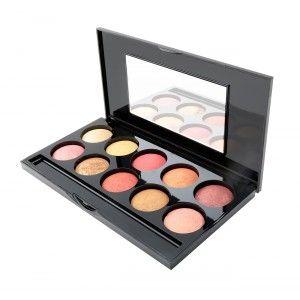 Buy PAC Baked Eyeshadow Palette - 1 - Nykaa
