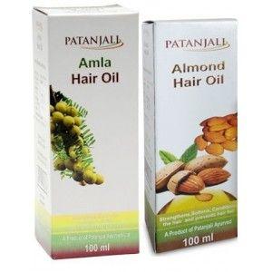 Buy Patanjali Almond + Amla Hair Oil  - Nykaa