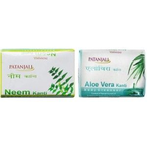 Buy Patanjali Neem + Aloevera Kanti Body Cleanser - Nykaa
