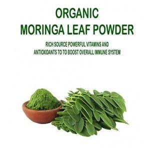 Buy NutraVigour Organic Moringa Leaf Powder - Nykaa