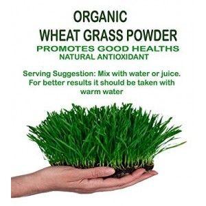 Buy NutraVigour Organic Wheat Grass Powder - Nykaa