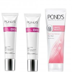 Buy Buy 2 Ponds White Beauty Blemish Balm Fairness Cream & Get Spot-less Fairness Face Wash Free - Nykaa