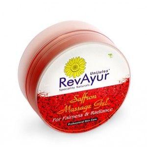 Buy RevAyur Saffron Massage Gel - Nykaa