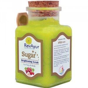 Buy RevAyur Sugar Brightening Scrub - Nykaa