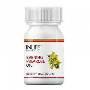 Buy INLIFE Evening Primrose Extra Virgin Cold Pressed Oil, 60 Capsules, Female care - Nykaa