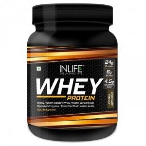 Buy INLIFE Whey Protein Powder 1 lbs(Chocolate Flavour) Body Building Supplement - Nykaa
