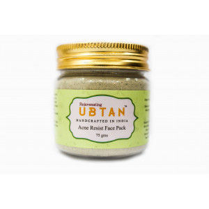 Buy Rejuvenating UBTAN Acne Resist Face Pack - Nykaa