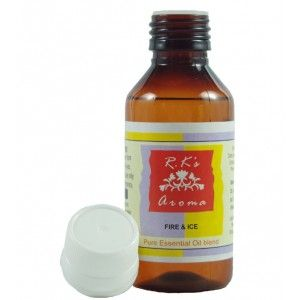 Buy R.K's Aroma Fire And Ice Pure Essential Oil Blend - Nykaa
