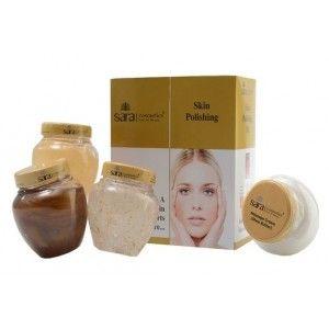 Buy Sara Skin Polish Gold Facial Kit - Nykaa