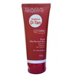 Buy Sara Radiance D-Tan Scrub - Nykaa