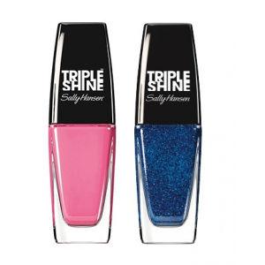 Buy Sally Hansen Triple Shine Nail - 200 Pixie Slicks + Free 380 Wavy Blue - Nykaa