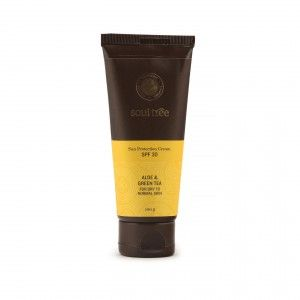 Buy SoulTree Aloe And Green Tea Sun Protection Cream SPF 30 - Nykaa