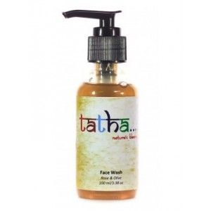 Buy Tatha Nature's Blessing Rose and Olive Face Wash - Nykaa