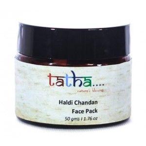 Buy Tatha Nature's Blessing Haldi Chandan Face Pack - Nykaa