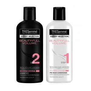 Buy Tresemme Beauty Full Volume Shampoo 80ml + 80ml Conditioner - Nykaa