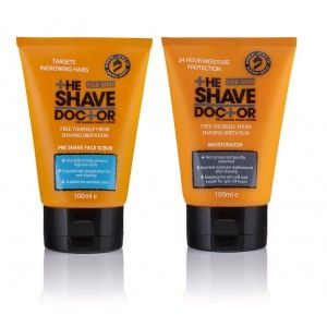 Buy The Shave Doctor Face Wash Scrub + Moisturazor - Nykaa