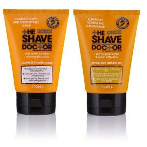 Buy The Shave Doctor Shave Creme + Aftershave Cooling Gel - Nykaa