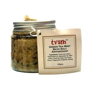 Buy TVAM Green Tea Mint Bath Salt - Nykaa