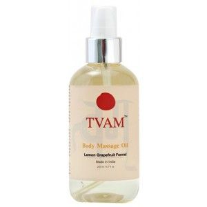 Buy TVAM Lemon Grapefruit & Fennel Massage Oil - Nykaa