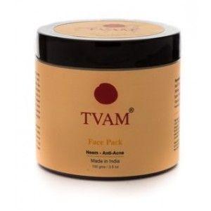 Buy TVAM Neem Anti-Acne Face Pack - Nykaa