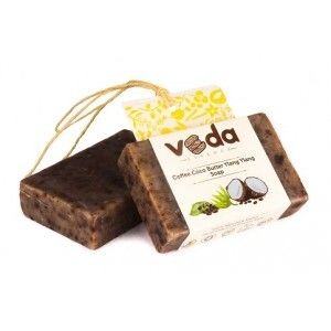 Buy Veda Essence Coffee Coco Butter Ylang Ylang Soap - Nykaa