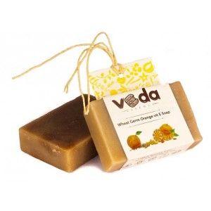 Buy Veda Essence Wheat Germ Orange Vit E Soap - Nykaa