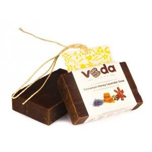 Buy Veda Essence Cinnamon Honey Lavendar Soap - Nykaa