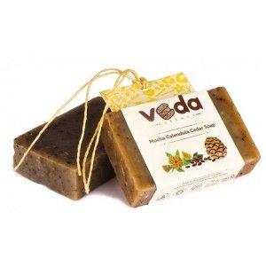 Buy Veda Essence Mocha Calendula Cedar Soap - Nykaa