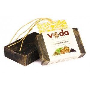 Buy Veda Essence Charcoal Cedar Soap - Nykaa