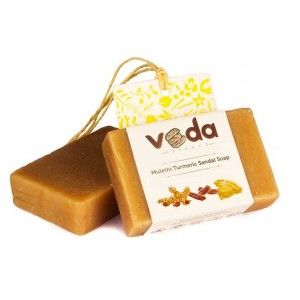 Buy Veda Essence Mulethi Turmeric Sandal Soap - Nykaa